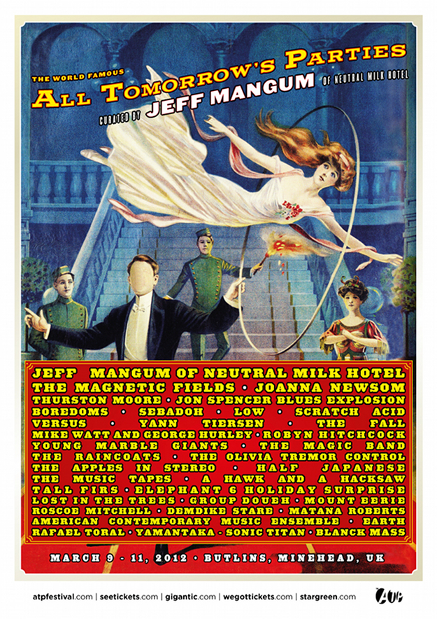 ATP Curated by Jeff Mangum Poster