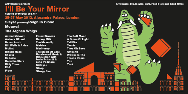 I'll Be Your Mirror London - Afghan Whigs confirmed