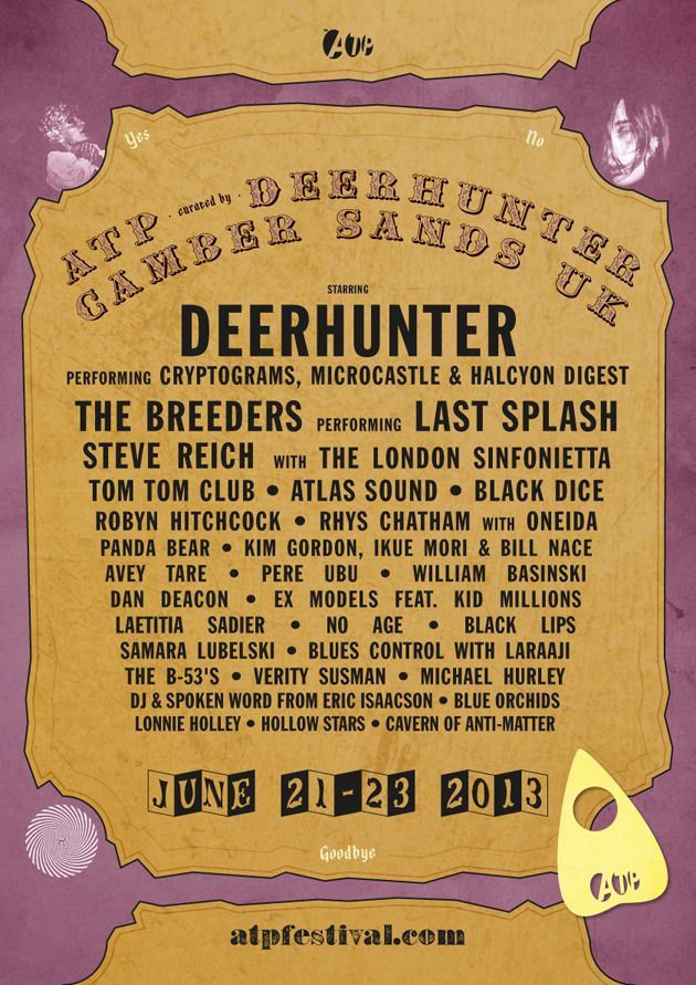 Weekend 2 curated by Deerhunter