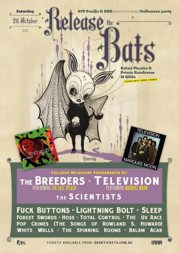 Release The Bats Melbourne
