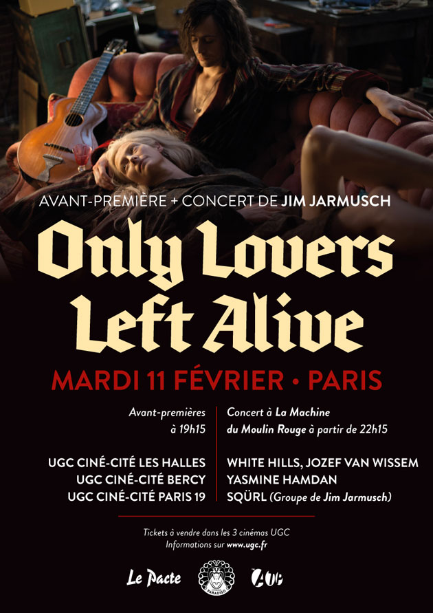 Only Lovers Left Alive in Paris