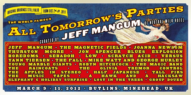 ATP Curated by Jeff Mangum