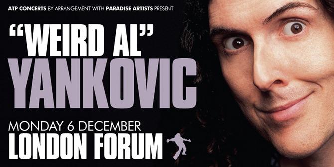 Weird Al Yankovic London show